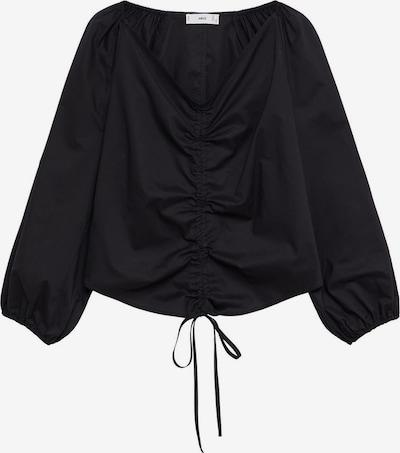 MANGO Bluse 'FLOWER' in schwarz, Produktansicht