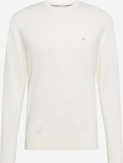 Calvin Klein Pull-over en blanc, Vue avec produit