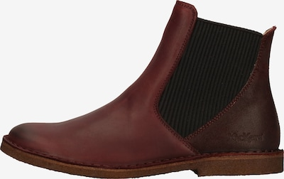 KICKERS Stiefelette in rot: Frontalansicht