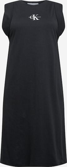 Calvin Klein Jeans Curve Robe d'été en noir / blanc, Vue avec produit