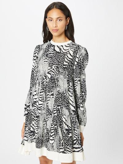 Rochie 'ABITO' Twinset pe negru / alb, Vizualizare model