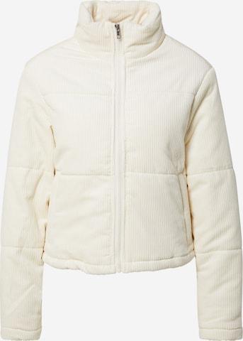 Urban Classics Between-Season Jacket 'Corduroy' in Beige