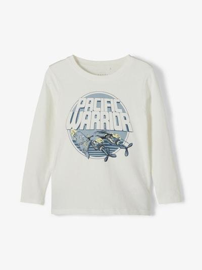 NAME IT Shirt 'Vux' in de kleur Navy / Duifblauw / Lichtgeel / Natuurwit, Productweergave
