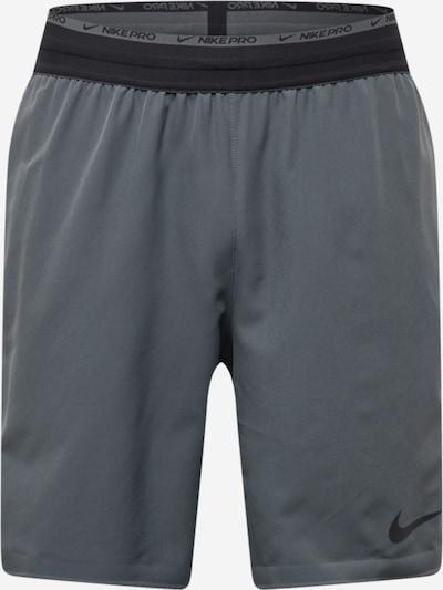 NIKE Sporta bikses, krāsa - pelēks, Preces skats