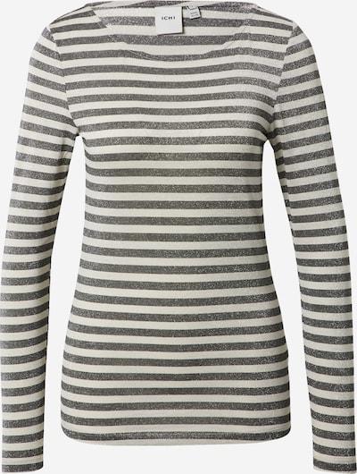ICHI T-Shirt in schwarz / weiß, Produktansicht