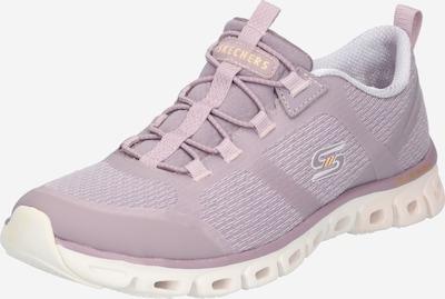 SKECHERS Slip on en gris clair / violet clair / blanc, Vue avec produit
