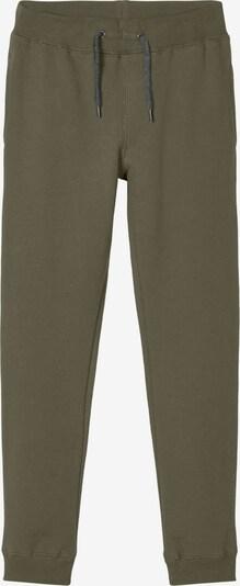 Kelnės iš NAME IT, spalva – rusvai žalia, Prekių apžvalga