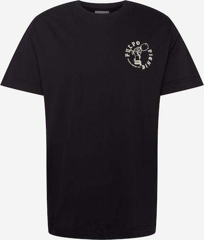 Libertine-Libertine T-Shirt 'Beat Pulpo II' in schwarz / weiß, Produktansicht