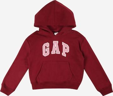Sweat-shirt GAP en rouge