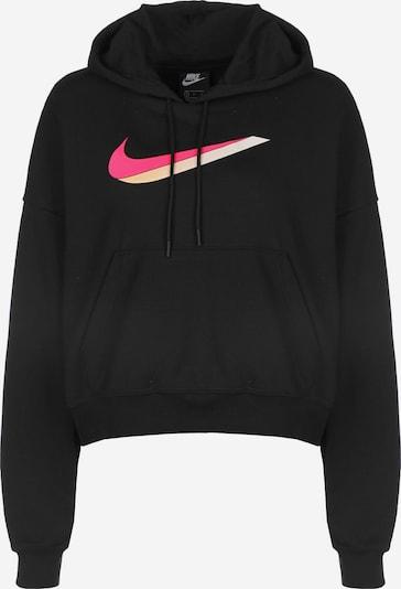 NIKE Sportska sweater majica 'Icon Clash' u roza / crna, Pregled proizvoda
