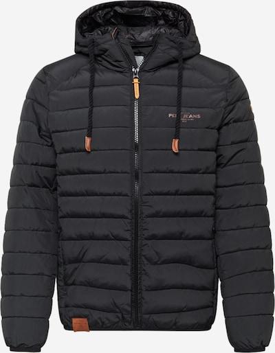 Pepe Jeans Starpsezonu jaka, krāsa - melns, Preces skats