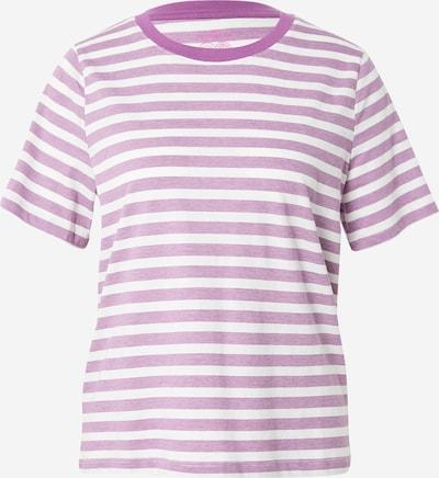 TOM TAILOR Shirt in de kleur Lila / Wit, Productweergave
