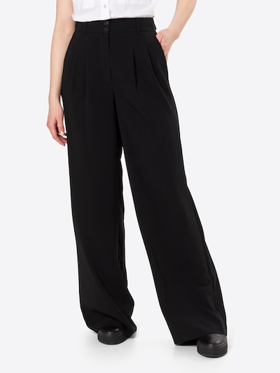 FIVEUNITS Pleat-front trousers 'Karen' in Black, View model