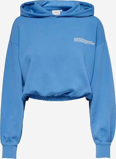 ONLY Sweatshirt 'Cooper' in himmelblau / weiß, Produktansicht
