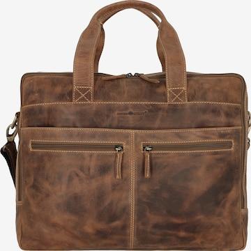 GREENBURRY Tasche in Braun