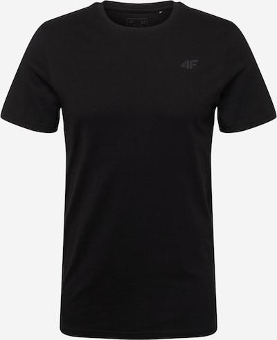 4F Sportshirt in schwarz, Produktansicht
