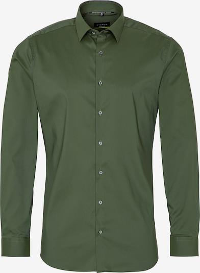 ETERNA Langarm Hemd SUPER SLIM in dunkelgrün, Produktansicht