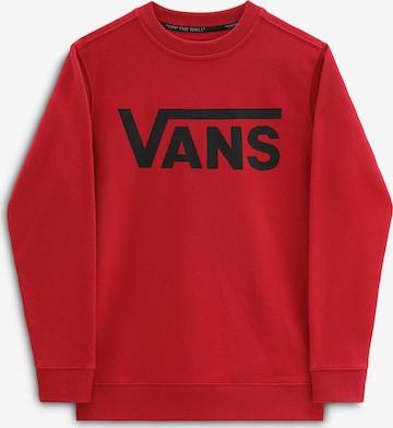 sarkans VANS Sportisks džemperis