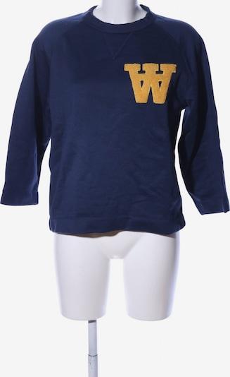 WOOD WOOD Sweatshirt in S in blau / pastellgelb, Produktansicht