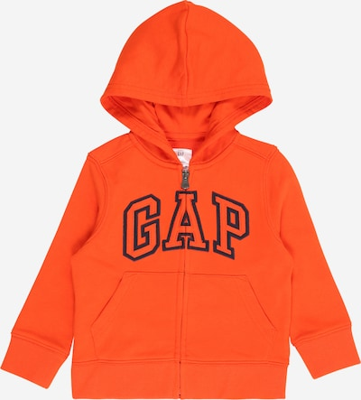 GAP Sweatjacke in orange / schwarz, Produktansicht