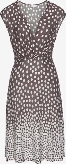 LASCANA Strandkleid 'Dalmatiner' in creme / braun, Produktansicht