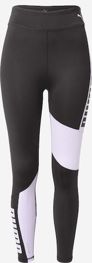 PUMA Sportbroek 'Favourite' in de kleur Lichtlila / Zwart, Productweergave
