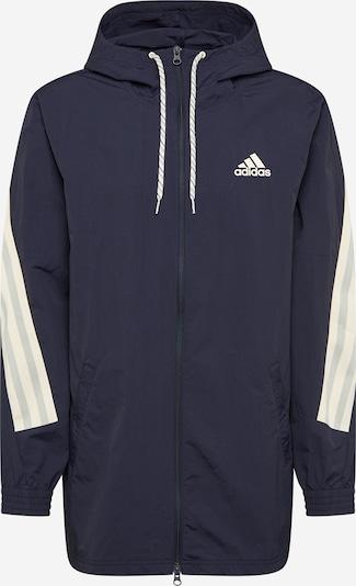 ADIDAS PERFORMANCE Sportjas in de kleur Donkerblauw / Wit, Productweergave