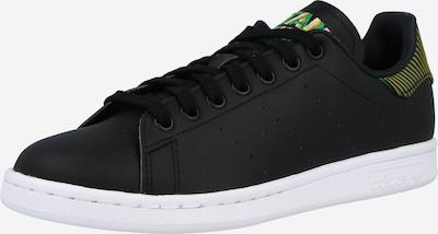 ADIDAS ORIGINALS Sneaker 'STAN SMITH' in gelb / grün / schwarz, Produktansicht