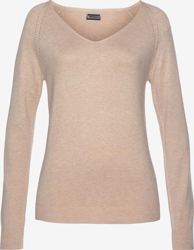 LAURA SCOTT Pullover in beigemeliert, Produktansicht