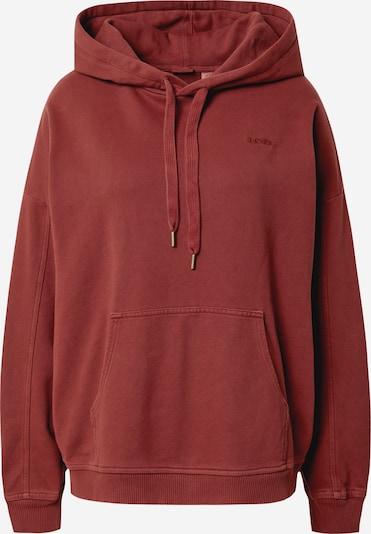 LEVI'S Hoodie 'RIDER' in rot, Produktansicht