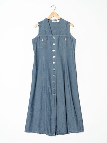 Erika Dress in L-XL in Blue
