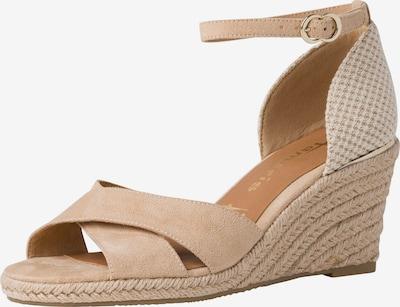 TAMARIS Páskové sandály - tělová / bílá, Produkt
