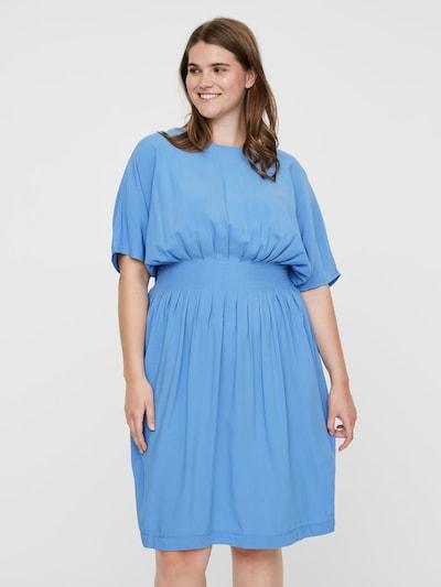 Junarose Kleid in himmelblau, Modelansicht