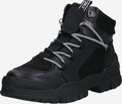 ONLY Ležerne čizme 'ONLSylke' u crna: Prednji pogled