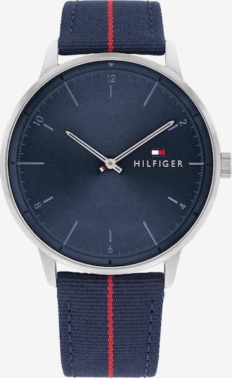 TOMMY HILFIGER Аналогов часовник в нейви синьо / червено / сребърно, Преглед на продукта
