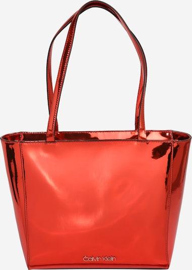 Calvin Klein Cabas en rouge, Vue avec produit