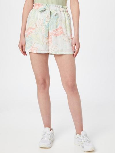 ONLY Панталон 'VIOLET' в светложълто / мента / сьомга / бяло, Преглед на модела