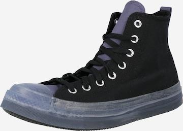 Sneaker alta di CONVERSE in nero