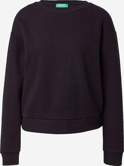 UNITED COLORS OF BENETTON Sweatshirt in Black, Item view