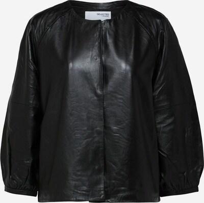 SELECTED FEMME Übergangsjacke in schwarz, Produktansicht