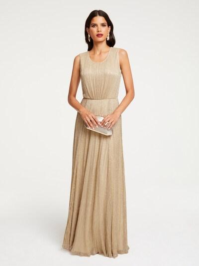 Patrizia Dini by heine Abendkleid in gold, Modelansicht