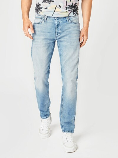 JACK & JONES Jeans 'JJIMIKE' i lyseblå, Modelvisning