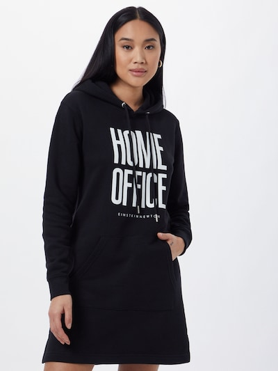 EINSTEIN & NEWTON Šaty 'Ana Theke' - černá / bílá, Model/ka