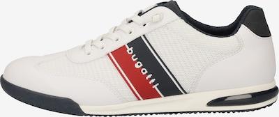 bugatti Sneaker in navy / feuerrot / weiß, Produktansicht