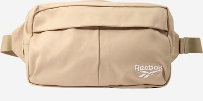 Reebok Classic Gürteltasche in beige / weiß, Produktansicht