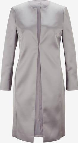 heine Between-Seasons Coat in Silver