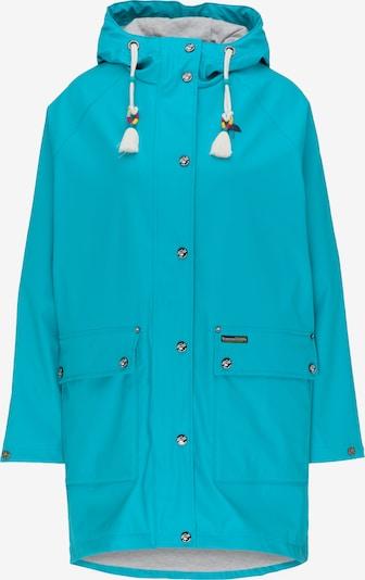 Palton funcțională Schmuddelwedda pe albastru aqua, Vizualizare produs