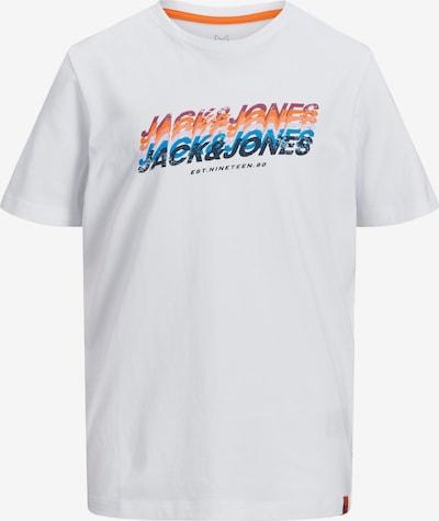 kék / narancs / fehér Jack & Jones Junior Póló, Termék nézet