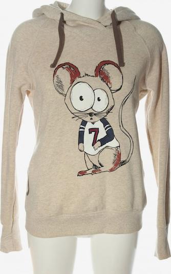 CLOCKHOUSE by C&A Kapuzensweatshirt in XL in creme, Produktansicht