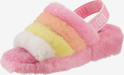 UGG Sandale in gelb / koralle / pink / weiß, Produktansicht